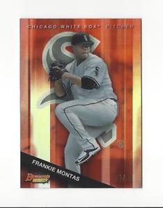 【送料無料】スポーツ メモリアル カード トップオレンジ2015 bowmans best top prospects orange refractor tp15 frankie montas 2425