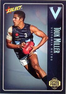 【送料無料】スポーツ メモリアル カード ]メトロ#ミラー2014 afl select future force nab under 18 players vic metro 086 touk miller