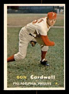 【送料無料】スポーツ メモリアル カード ドンカードウェルdon cardwell 57 topps 1957 no 374 exmint 21402