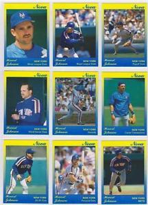【送料無料】スポーツ メモリアル カード ハワードジョンソンニューヨークメッツカードノヴァシリーズセットhoward johnson 1991 star company york mets 9card nova series bb set 500