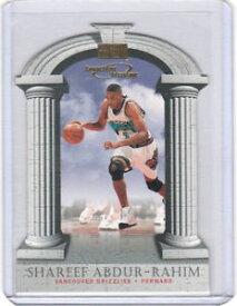 【送料無料】スポーツ メモリアル カード シャリーフスカイボックスshareef abdurrahim 199798 skybox competitive advantage diecut 2 yr rc