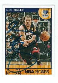 【送料無料】スポーツ メモリアル カード サインマイクミラーマイアミバスケットボールカード#autographed 201314 mike miller miami heat basketball card 67