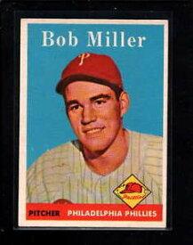 【送料無料】スポーツ メモリアル カード #ボブミラー1958 topps 326 bob miller exmt lc3225