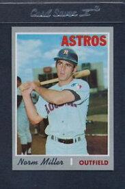 【送料無料】スポーツ メモリアル カード #ミラーアストロズマウント1970 topps 619 norm miller astros nmmt *5445