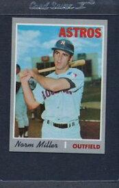 【送料無料】スポーツ メモリアル カード #ミラーアストロズマウント1970 topps 619 norm miller astros nmmt *5591