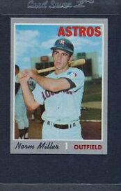 【送料無料】スポーツ メモリアル カード #ミラーアストロズマウント1970 topps 619 norm miller astros nmmt *5443