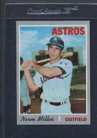 【送料無料】スポーツ メモリアル カード #ミラーアストロズマウント1970 topps 619 norm miller astros nmmt *5592
