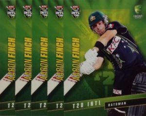 【送料無料】スポーツ メモリアル カード タップオーストラリアアーロンフィンチ2015 tap n play australia t20 international aaron finch