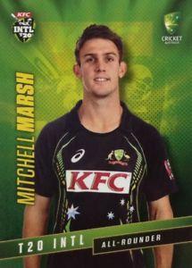 【送料無料】スポーツ メモリアル カード タップオーストラリアミッチェルマーシュ2015 tap n play australia t20 international mitchell marsh