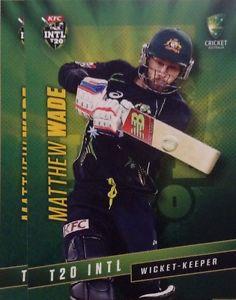 【送料無料】スポーツ メモリアル カード タップカードオーストラリアマシューウェイド2015 tap n play base card australia t20 matthew wade