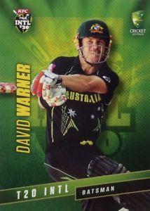 【送料無料】スポーツ メモリアル カード タップオーストラリアデビッドワーナー2015 tap n play australia t20 international david warner