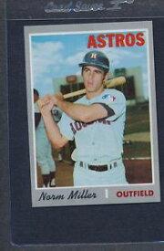 【送料無料】スポーツ メモリアル カード #ミラーアストロズマウント1970 topps 619 norm miller astros nmmt *5590