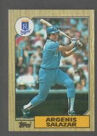 【送料無料】スポーツ メモリアル カード コレクターカード533 argenis salazar 1987 baseball collector card