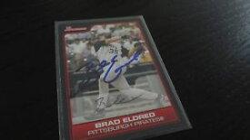 【送料無料】スポーツ メモリアル カード ブラッドエルドレッドサインベースボールカード2006 bowmann brad eldred autographed baseball card