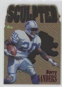 【送料無料】スポーツ メモリアル カード 1996nfls8バリーサンダースデトロイトライオンズカード1996 classic nfl experience sculpted s8 barry sanders detroit lions card