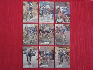 【送料無料】スポーツ メモリアル カード マーリンカードチームカレラフランスパニーニ9 merlin 1996 cards team carrera pantani tour de france cycling no panini