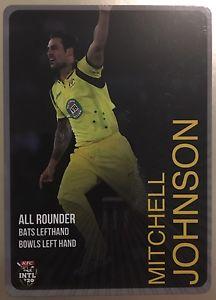 【送料無料】スポーツ メモリアル カード タップカードオーストラリアミッチェルジョンソン2014 tap n play base card australia t20 mitchell johnson