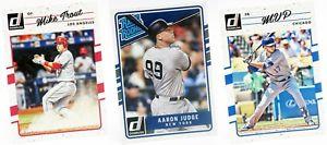 【送料無料】スポーツ メモリアル カード ベースシングルリーグトレーディングカードパニーニセット2017 donruss base set singles mlb baseball trading cards panini