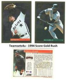 【送料無料】スポーツ メモリアル カード 1994ゴールドラッシュチーム**セットチームセット**