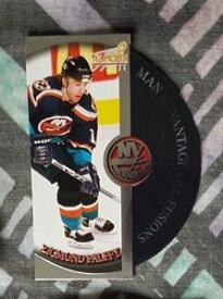 【送料無料】スポーツ メモリアル カード 199899 オーロラ12ジグマンドpalffyニューヨークアイランダーズ199899 aurora man advantage 12 zigmund palffy york islanders