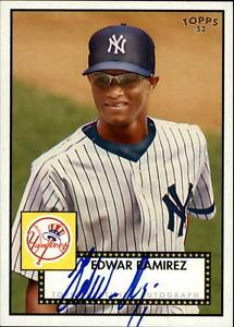 【送料無料】スポーツ メモリアル カード 2007 topps 52 signatures er edwar ramirez f2007 topps 52 signatures er edwar ramirez f