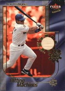 【送料無料】スポーツ メモリアル カード 2002ultraゲームバット20イワンロドリゲス2002 ultra hitting machines game bat 20 ivan rodriguez