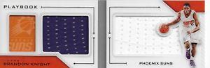 【送料無料】スポーツ メモリアル カード 201617 brandon knight panini preferred dual jersey booklet201617 brandon knight panini preferred dual jersey booklet