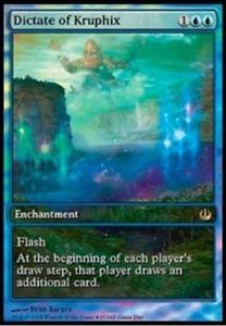 【送料無料】スポーツ メモリアル カード foil promo game daykrufix kruphix mtgマジックエングイタfoil promo game day dictates by krufix dictate of kruphix mtg magic engita