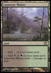 【送料無料】スポーツ メモリアル カード llanowarllanowarmtgマジック10e10エングイタstretches of llanowar llanowar wastes mtg magic 10e 10th edition engita