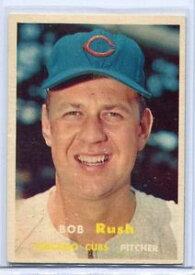 【送料無料】スポーツ メモリアル カード ミント1371957トップスベースボールカードボブラッシュピッチャーシカゴカブス1957 topps baseball card bob rush pitcher chicago cubs near mint 137