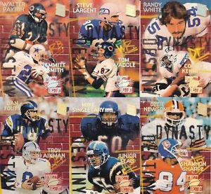 【送料無料】スポーツ メモリアル カード スタジアムクラブカードセット listing1994 stadium club dynasty destiny complete 6 card set