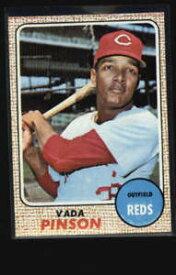 【送料無料】スポーツ メモリアル カード #レッズ1968 topps 90 vada pinson reds nm lh2683