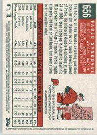 【送料無料】スポーツ メモリアル カード #パブロ2008 topps heritage 656 pablo sandoval rc bx h1g