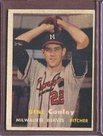 【送料無料】スポーツ メモリアル カード 1957 topps 28 gene conley ex d178708