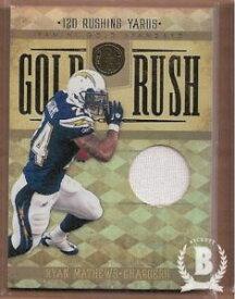 【送料無料】スポーツ メモリアル カード パニーニゴールドスタンダードゴールドラッシュ#ライアンジャージー2011 panini gold standard gold rush materials 24 ryan mathews 49 jersey