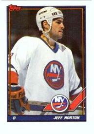 【送料無料】スポーツ メモリアル カード トップスアイスホッケー1991 nhlpanhl243ジェフノートン