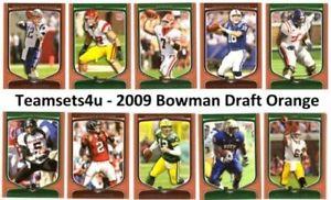【送料無料】スポーツ メモリアル カード 2009orangeフットボールセットチームチェックリスト