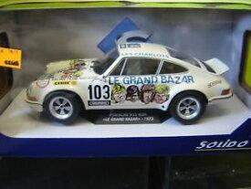 【送料無料】模型車 モデルカー スポーツカー ポルシェルグランドバザールsolido 118 porsche 911 rsr le grand bazar 1973 neu495