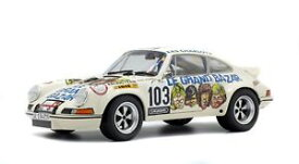 【送料無料】模型車 モデルカー スポーツカー ポルシェルグランドバザールコレクションporsche 911 rsr le grand bazar 1973 118 collection solido1801106