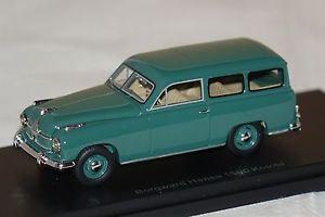 【送料無料】模型車 モデルカー スポーツカー ハンザコンビボスborgward hansa 1500 kombi grn 143 bos 43050 neu amp; ovp