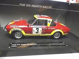【送料無料】模型車 モデルカー スポーツカー フィアットアバルトアフリカンサファリラリー#サンスターfiat 124 abarth rallye african safari 3 1974 barbasio sodano sunstar sp 118