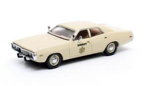 【送料無料】模型車 モデルカー スポーツカー ダッジコロネットモントレーマトリックスdodge coronet monterey sheriff 1973 matrix 143 mx20405152