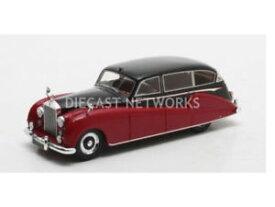 【送料無料】模型車 モデルカー スポーツカー マトリックスロールスロイスシルバーウェッブリムジンmatrix 143 rollsroyce freestone amp; webb silver wraith limousine 1957 mx