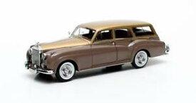 【送料無料】模型車 モデルカー スポーツカー ハロルドラドフォードゴールドメタリックマトリックスharold radford sc estate gold metallictaupe 1959 matrix 143 mx11705072