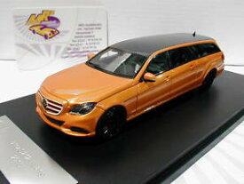 【送料無料】模型車 モデルカー スポーツカー モデルベンツセダンオランウータンglm models 203601 mercedes benz s212 estate limousine bj 2012 orangemet 143