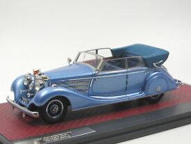 【送料無料】模型車 モデルカー スポーツカー マトリックススケールモデルメルセデスベンツカブリオレmatrix scale models 1937 mercedesbenz 770 cabriolet d w07 hermann gring 143
