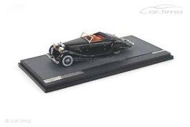 【送料無料】模型車 モデルカー スポーツカー カブリオレブランブラックマトリックススケールモデルhispano suiza k6 cabriolet brandone 1935 schwarz matrix scale models 1 of