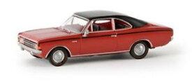 【送料無料】模型車 モデルカー スポーツカー オペルクーペドラマーbrekina 20653 187 opel rekord c coup rotschwarz von drummer neu