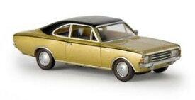 【送料無料】模型車 モデルカー スポーツカー オペルクーペゴールドドラマーbrekina 20654 187 opel rekord c coup goldschwarz von drummer neu