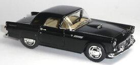 【送料無料】模型車 モデルカー スポーツカー ブラックフォードサンダーバードキンマートブランドヴィンテージコレクタモデル1955 ford thunderbird schwarz 136 oldtimer sammlermodell von kinsmart neuware